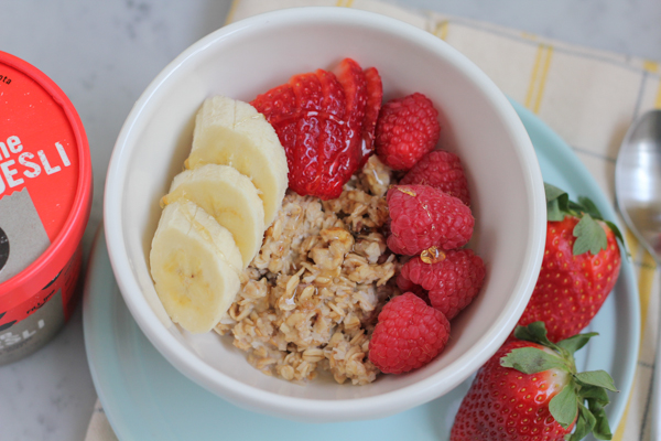 Make breakfast special again with real, healthy ingredients!! Try Seven Sundays muesli. This is a breakfast of champions. #muesli @sevensundays #breakfast