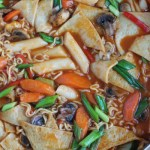 Dukbokki Korean Spicy Rice Cakes