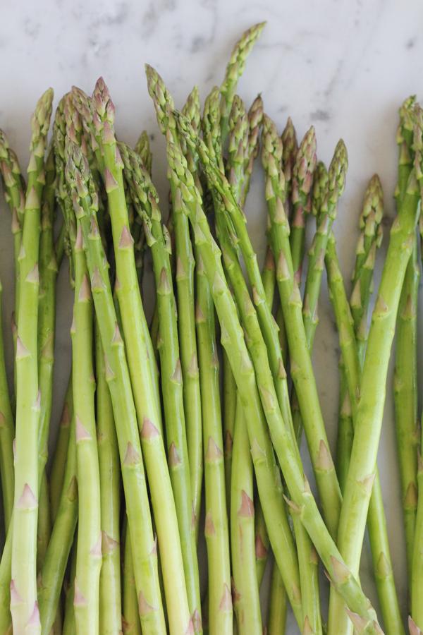 Asparagus for Asparagus Gruyere Tart.