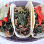 Vegetarian Farro Soft Tacos