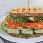 Vegan Power Sandwich with Asparagus Pesto