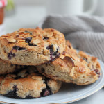 Gluten Free Blueberry Lemon Scones