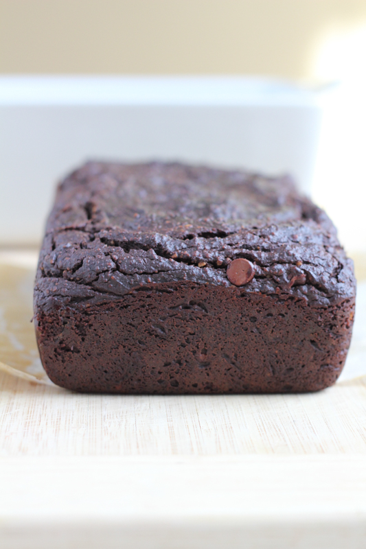 Moist, flavorful and packed with vitamins, fiber and healthy fats . . you need to try this Chocolate Avocado Bread! #glutenfree #chocolateavocadobread