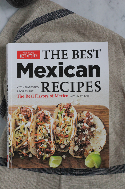 Like Mexican food? You need this cookbook! Enter to win America's Test Kitchen's The Best Mexican Recipes cookbook today! #giveaway #cookbook