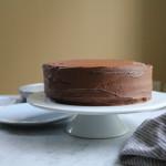 Sour Cream Chocolate Cake