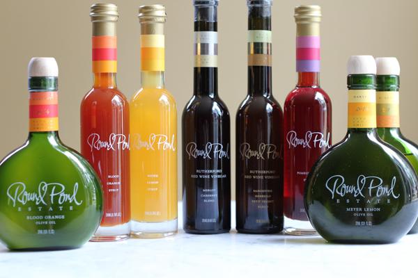 Round Pond Estates Olive Oils, Vinegars and Syrups