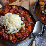 Turkey Chili with Wisconsin Farmer's Cheese