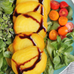 Roasted Golden Beets with Balsamic Glaze