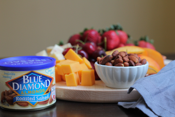 Simple and easy to put together snack or appetizer platter for the summer! #ad