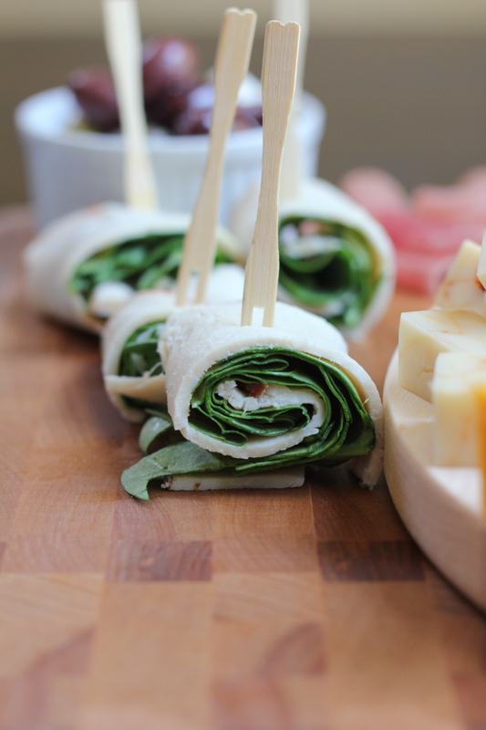 Chicken roll ups with spinach!!!