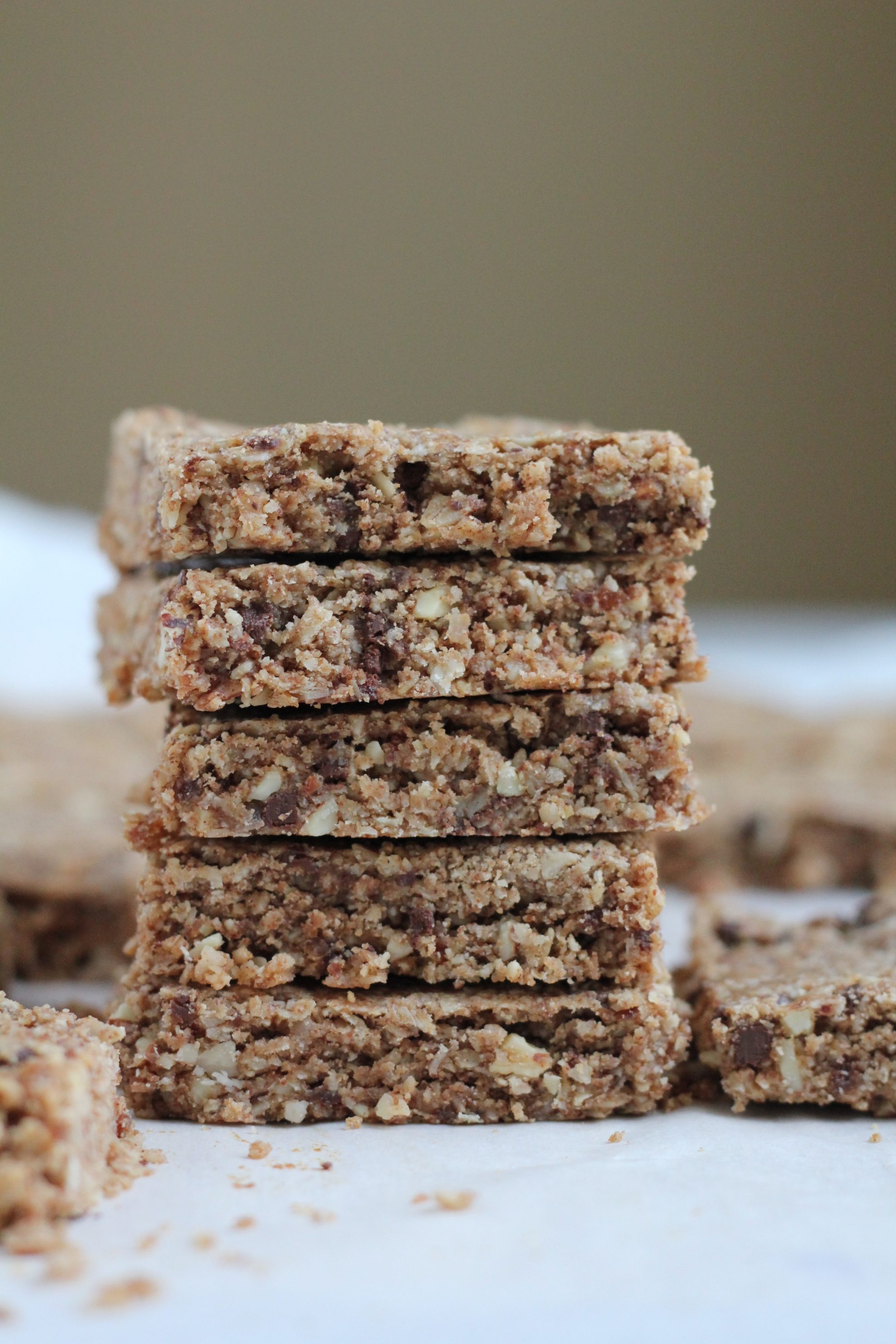 Coconut Almond Flaxseed Granola Bars, plus a His and Hers FitBit Giveaway!