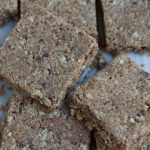Coconut Almond Flaxseed Granola Bars + A FitBit Giveaway!