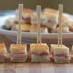 Mini Croques Monsieur Sandwiches