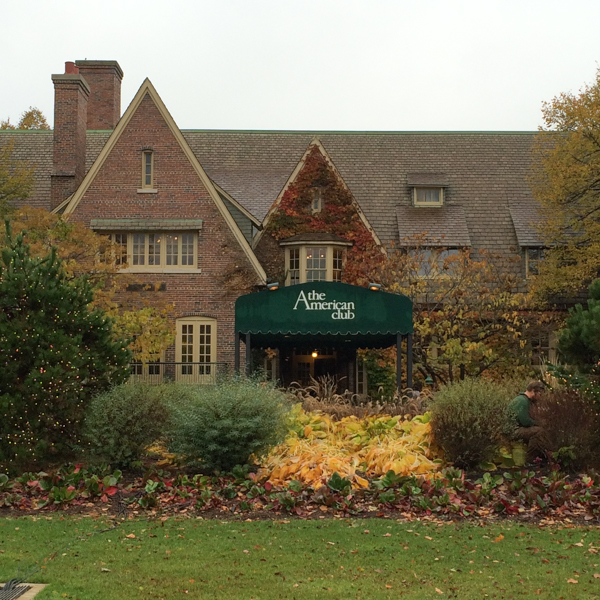 The American Club in Kohler, Wisconsin