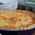 Butternut Squash and Kale Quiche