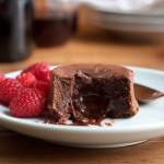 Boozy Chocolate Lava Cakes