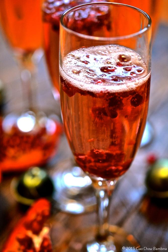 Italian-Pomegranate-Fizz and 25 Cocktails for New Years Eve!! Whether you are looking for a cocktail, or mocktail, this round-up is for you! Happy New Year's Eve!!!