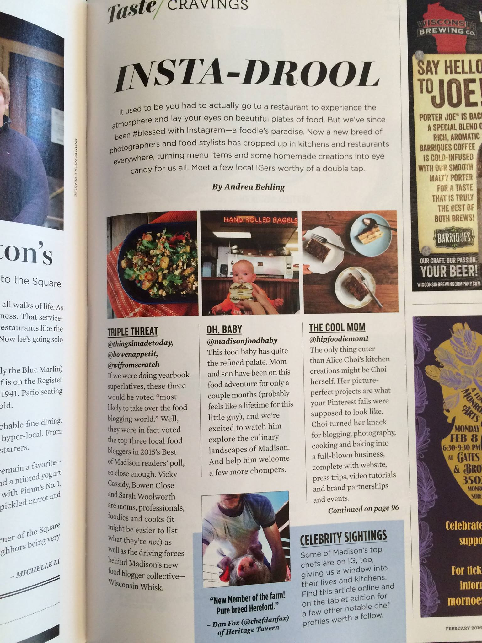 Hip Foodie Mom in Madison Magazine