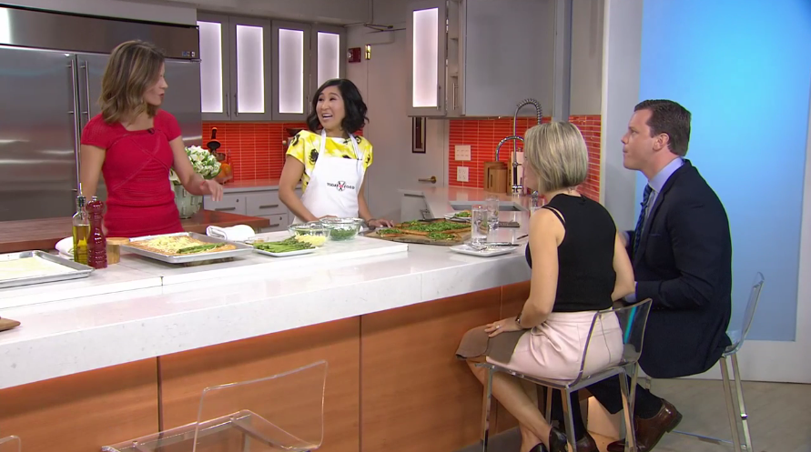 TODAY Show Debut! My Asparagus Gruyere Tart on The TODAY Show! It's been a crazy past few days but I wanted to share my experience with you all!
