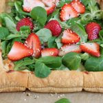 Strawberry Salad Tart