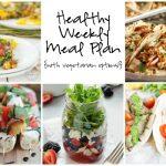 Healthy Weekly Meal Plan 7.2.16