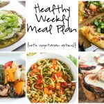 Healthy Weekly Meal Plan 7.9.16