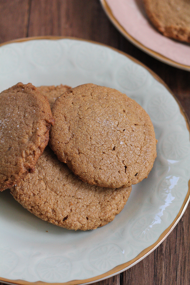Peanut Butter Sea Salt Cookies!!! So easy to make and so delicious! You won't believe these cookies are made with only five ingredients! You have to try this recipe! These are the best peanut butter cookies ever!!!