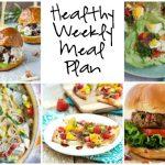 Healthy Weekly Meal Plan 8.13.16