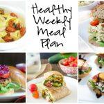 Healthy Weekly Meal Plan 8.6.16