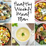 Healthy Weekly Meal Plan 8.27.16