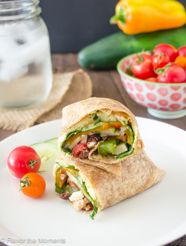 greek-veggie-hummus-wrap1-flavorthemoments.com