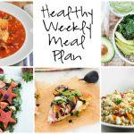 Healthy Weekly Meal Plan 9.10.16