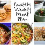 Healthy Weekly Meal Plan 9.24.16
