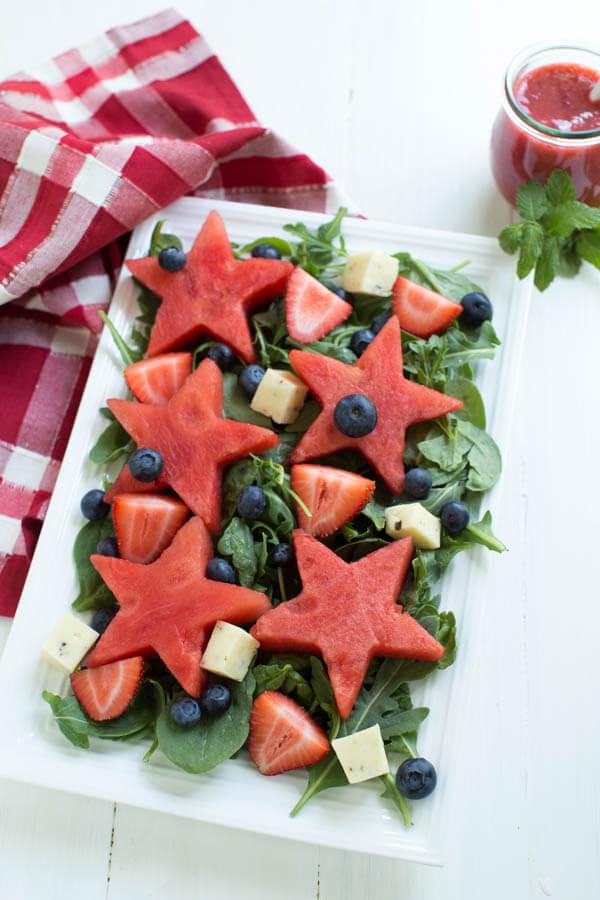 watermelon-berry-salad