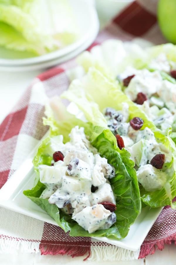 apple-cranberry-apricot-chicken-salad-lettuce-wraps