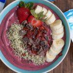 Berry Acai Smoothie Bowls