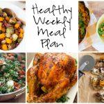 Healthy Weekly Meal Plan 11.19.16