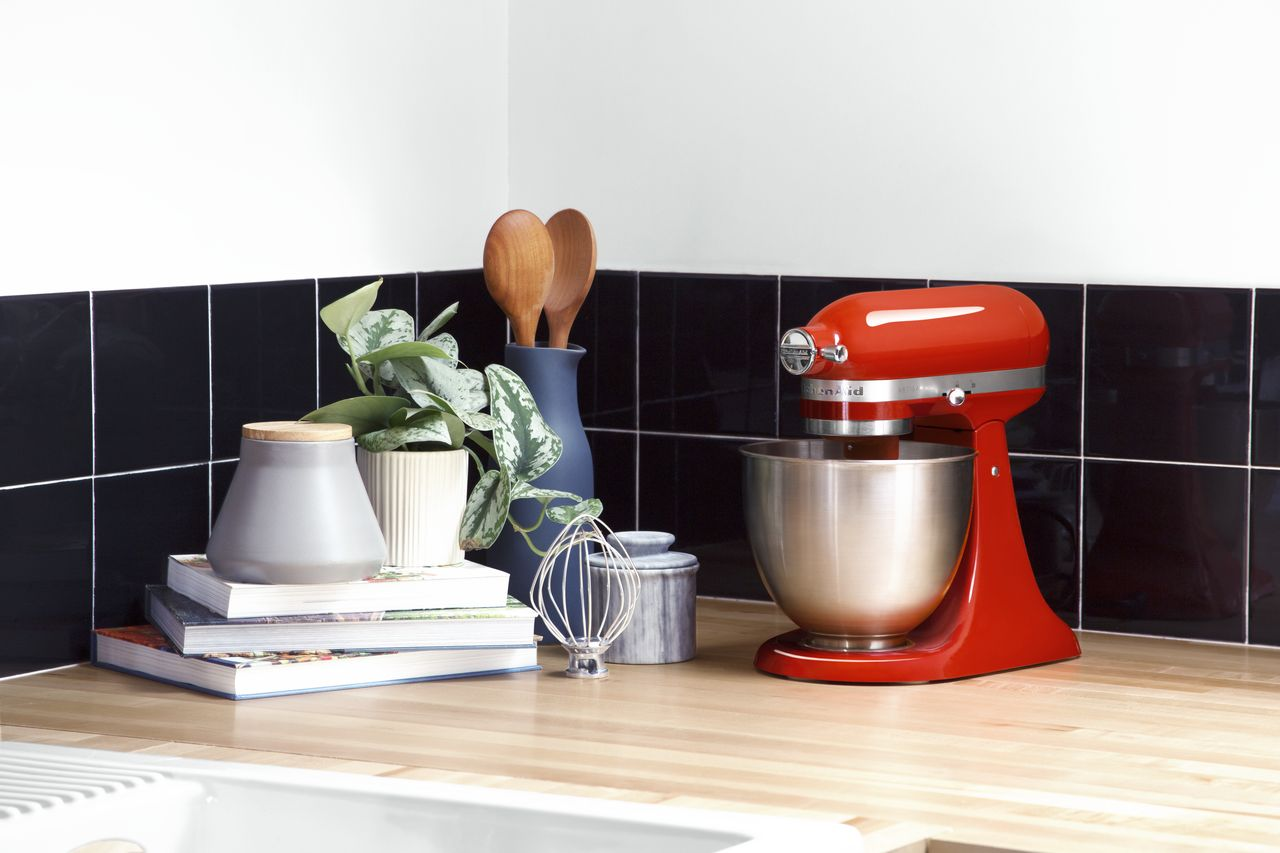 KitchenAid Mini Stand Mixer Giveaway! Enter to win a brand new KitchenAid Mini Stand Mixer!!! It's still as powerful as a regular sized one and still uses all the same attachments! It just takes up less counter space!