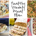 Healthy Weekly Meal Plan 12.17.16