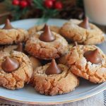 Holiday Peanut Butter Blossoms