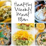 Healthy Weekly Meal Plan 1.14.17