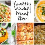 Healthy Weekly Meal Plan 2.11.17