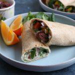 Mediterranean Veggie Wraps