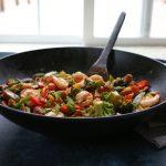 Chicken and Shrimp Stir Fry