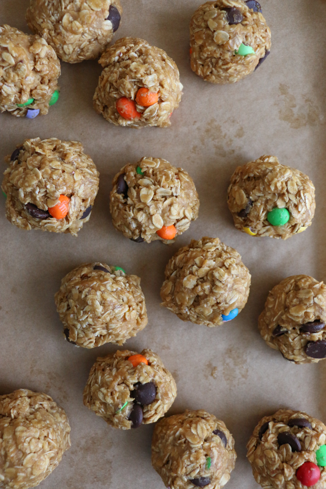 Thick, chewy and delicious! These are the perfect cookies to enjoy with a tall glass of milk!
