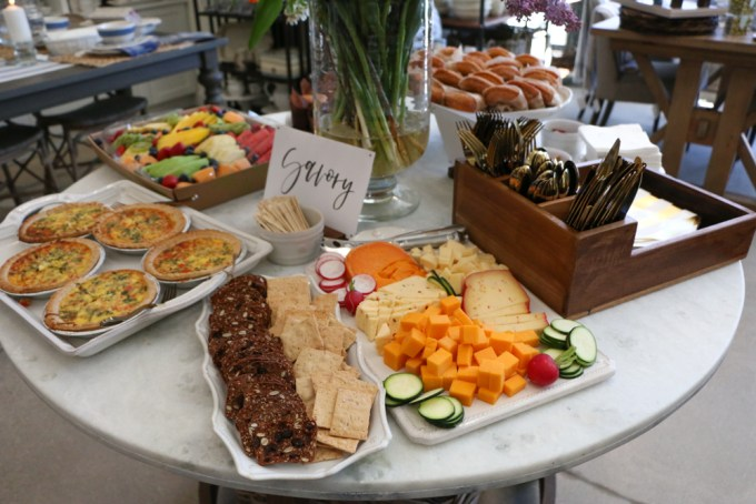 Brunch at The Home Market in Madison, Wisconsin! Including some tips on entertaining, setting a table and more!
