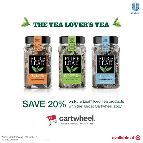 Doing Summer Right with Pure Leaf Home Brewed Iced Teas! Look for them at Target and get20% off with the Pure Leaf Home Brewed Iced Teas Cartwheel offer valid from July 2ndto July 15th! #ad