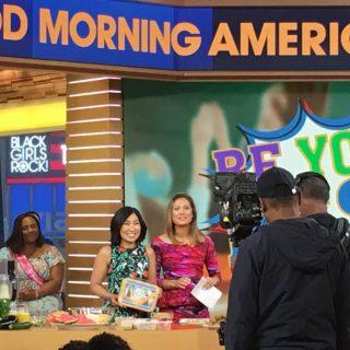 My back to school segment on Good Morning America!!!