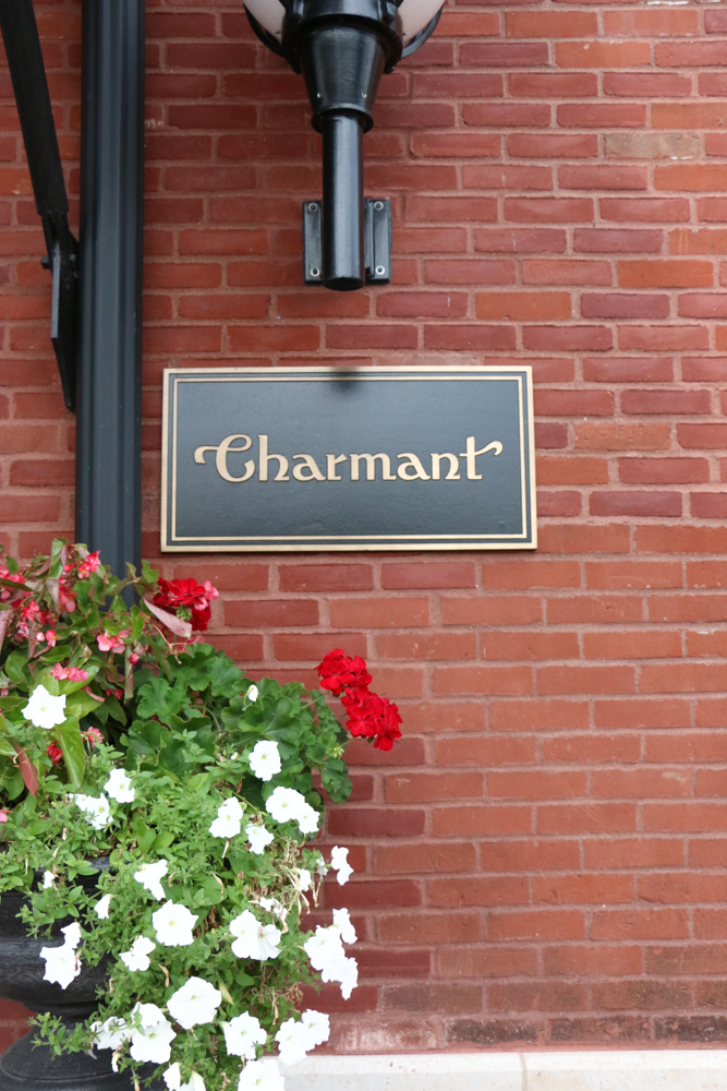 The Charmant Hotel in La Crosse, Wisconsin! Stylish, unique and so lovely! This is the only independent boutique hotel inLa Crosse! If you're ever in the area, you simply must stop in for dinner or a drink at the bar and if you're staying the night, you have to check it out!