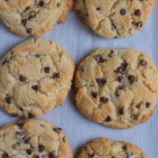 Chocolate Chip Sugar Cookies. . when you need a little somethin' more to add to sugar cookies! So easy!